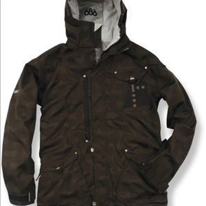 686 acc Syndicate Insulated Snowboarding Jacket